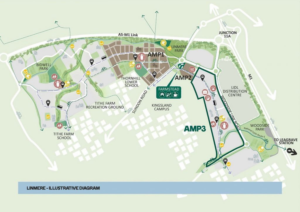 Linmere Plans for Area Masterplan 3